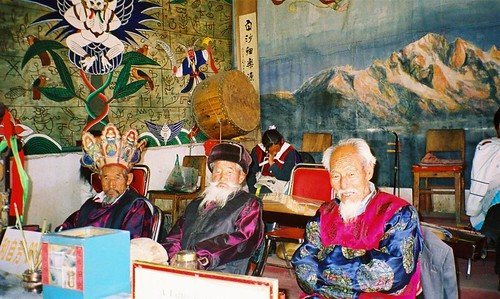 Naxi dudes, Baisha, Yunnan