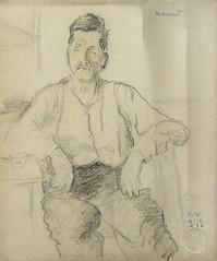 Portretul lui Mamut_desen_Muzeul de Arta Constanta