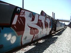 kit (graffiti oakland) Tags: train graffiti oakland ks kit mbt freight kitone