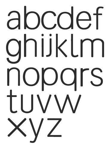 my new typeface