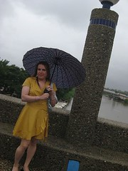 Jessica Bajo la Lluvia