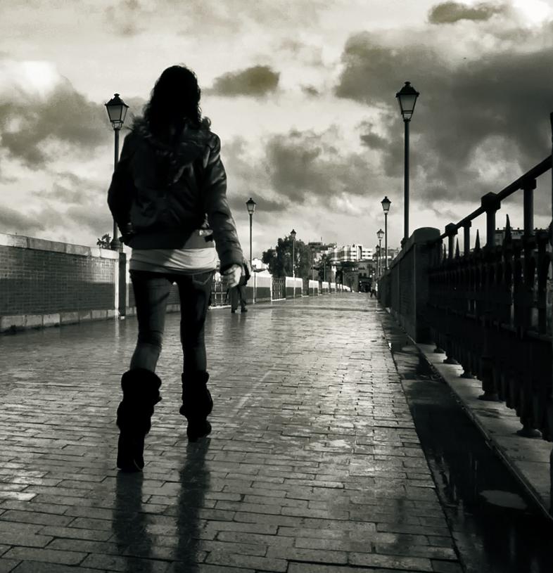 A menina do ponte