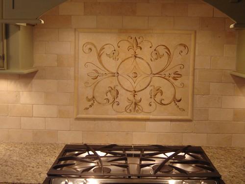 Lovely Kitchen Backsplash Medallion Home Design Ideas And Pictures With Backsplash  Medallions.