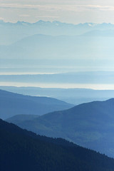 Blue Layers (Takeshi Sugimoto) Tags: washington cascades layers olympic