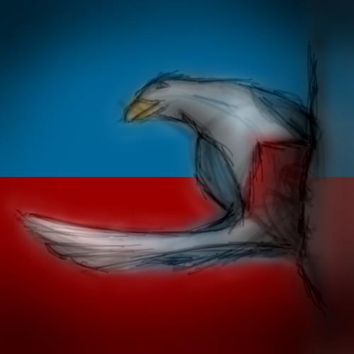 Haitian Bird - sketch