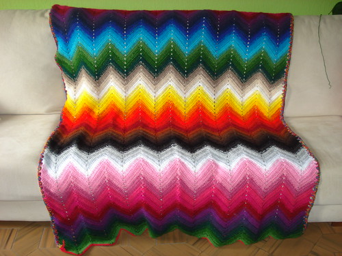 Crochet Tutorial Zigzag : HOW TO CROCHET ZIG ZAG Crochet For Beginners