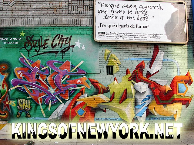BG 183 graffiti and Daim by tatscruinc