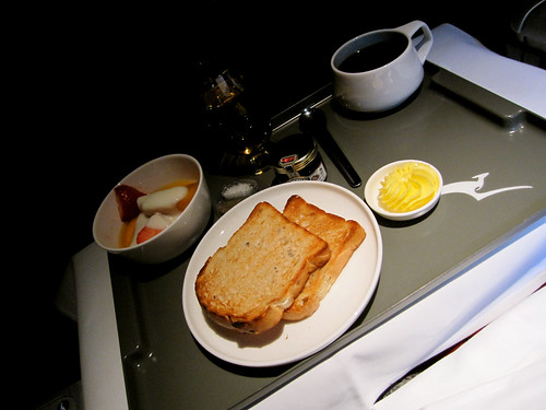 Breakfast - SIN-FRA