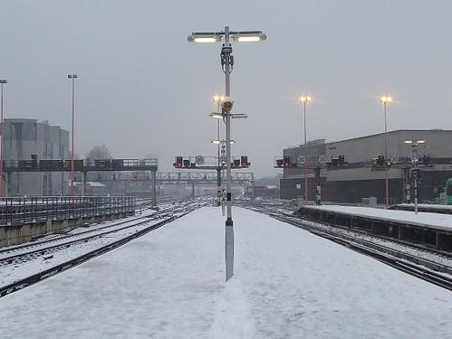 London Bridge in the Snow