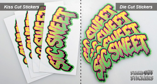 Kiss Cut Stickers VS Die Cut Stickers StandOut Stickers Blog - Custom vinyl decals die cutcustom vinyl decals standout stickers