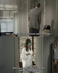 Breakfast at Tiffany's (1961) (pineappleupsidedown) Tags: audreyhepburn screencap subtitle breakfastattiffanys