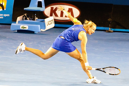 Alicia Molik - Alicia Makes a Sharp Return