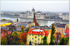 A misty view on Budapest (jackfre2-Fllickr connections get worse everyday!!!) Tags: trees mist water misty fog buildings hungary spires hill budapest foggy churches overcast parliament danube buda pest donau mygearandmepremium mygearandmebronze mygearandmesilver mygearandmegold