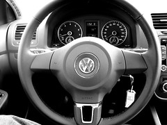 i approve (frankieleon) Tags: auto car vw volkswagen interestingness interesting automobile bestof cc creativecommons popular steeringwheel frankieleon plssat