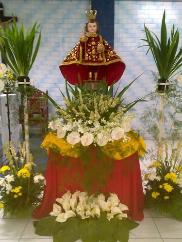 Floral Arrangement Sto Nino