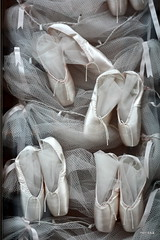 satin dreams (nereis*01*) Tags: pink ballet abstract tutu balletshoes
