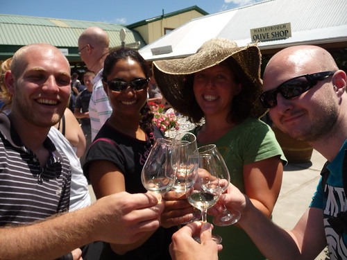 Wine tasting near Nelson