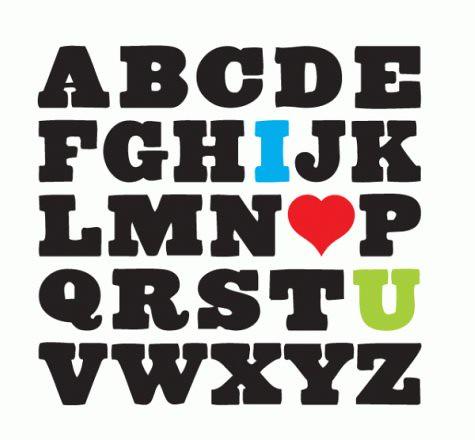 Майка Алфавит любви.