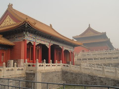 (leandra machado) Tags: china city winter red people cold fog mystery doors tea chinese beijing greatwall forbiddencity badaling republicofchina