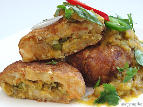 gujarati raghda patties 2