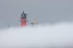 Bsumer Leuchtturm (Ulf Wendel) Tags: schnee winter lighthouse snow raw hafen leuchtturm dithmarschen bsum