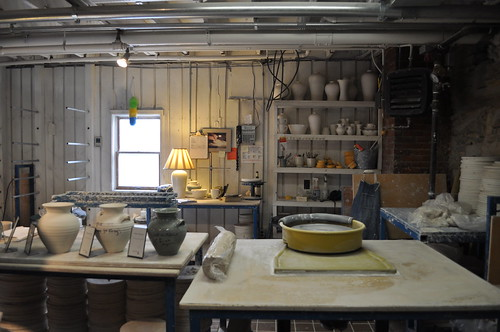 Pottery Workshop at Simon Pearce