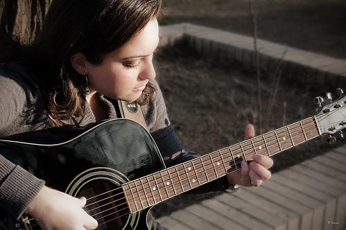 Sentimiento en una guitarra