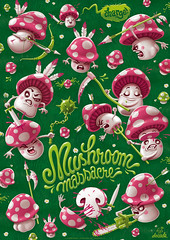 poster: mushroom massacre (akrapf) Tags: mushroom poster blood massacre battle gore denada akrapf