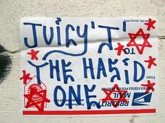 (kewlio) Tags: sanfrancisco graffiti sticker jewish