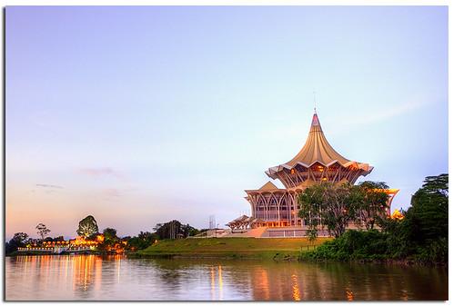 Sarawak State Legislative Assembly Building ~ Sarawak (Borneo), Malaysia