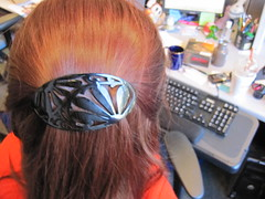black hair clip