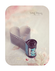 Expired Love (Kimberly Chorney) Tags: texture film vintage heart grain naturallight roll expired pillowcase shabbychic expiredlove blackwhitefilm heartshapedfilm