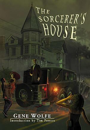 The Sorcerer's House PS Publishing Jacket