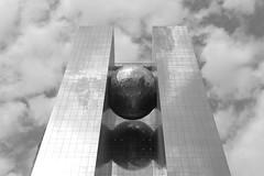 Rasgas Headquarters (II) (manuela.martin) Tags: blackandwhite bw architecture middleeast architektur doha qatar contemporaryarchitecture modernearchitektur rasgas challengeyouwinner rasgasheadquarters