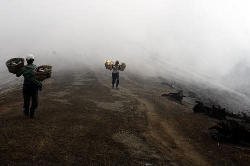 On the top of Kawah Ijen