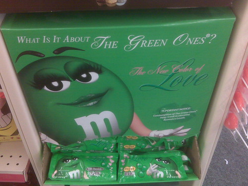 "M&Ms Green ""The Green Ones"""
