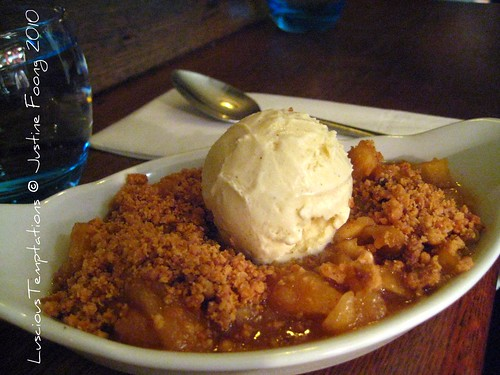 Apple Crumble - The Garrison, Bermondsey Street