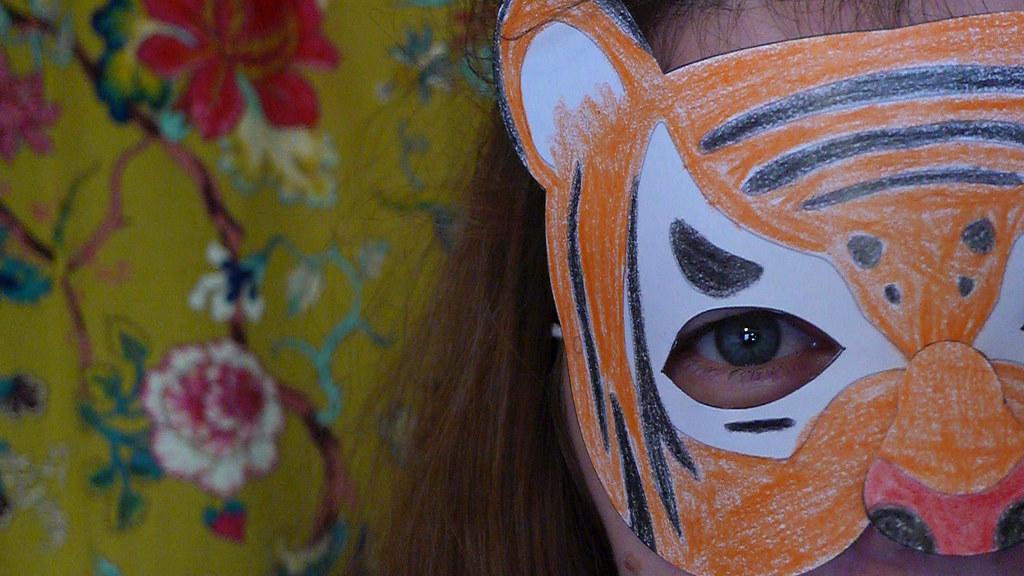 free tiger mask