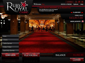 Ruby Royal Casino Lobby