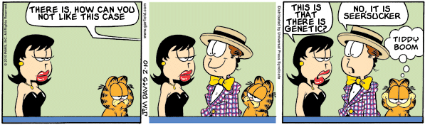Garfield: Lost in Translation, February 10, 2010
