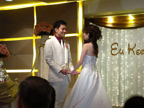 Keong and Christina get hitched