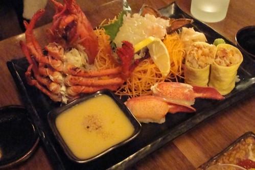 Lobster Sashimi Platter