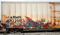 Mfk CT Iws Berlin Whistle Blower (Steel Hunter) Tags: berlin graffiti ct reefer freighttrain sprayart mfk armn iws steelhunter