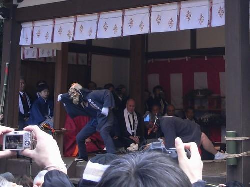 夫婦和合の奇祭「おんだ祭」『飛鳥坐神社』@明日香村