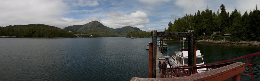 Insel nahe Tofino auf Vancouver Island