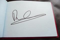 Autograph: Dave Gorman