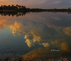 """The Face in The Mirror"" EXPLORE-2/16/10 (Blanca Rosa2008 +2,000,000 Views Thanks to All) Tags: sunset sky lake nature clouds reflections landscape explore bluelake thompsonpark supershot explored sunsetmiami canonpowershotsd880is parksmiami landscapemiami yourwonderland zstincer"
