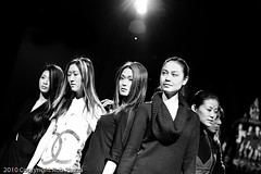 Fashion Show (Rob Piazza) Tags: japan tokyo fashionshow fashion hair model bw blackandwhitejapan nikon robpazza robertpiazza fotografia photography photographer