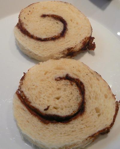 Building Benedict:  Cinnamon toast