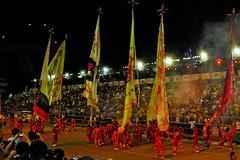 The Giant Flags (chooyutshing) Tags: street singapore performance chinesenewyear parade celebration entertainment local foreign floats 2010 chingayparade singaporetourismboard marinabayarea giantflags pitbuilding peoplesassociation